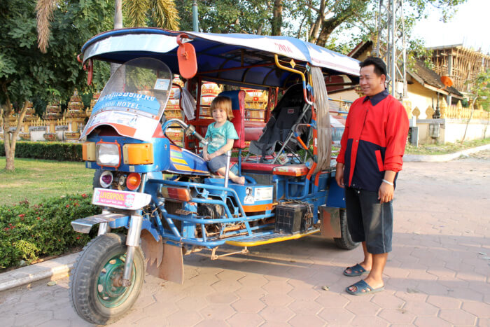 Urlaub mit Kind in Laos