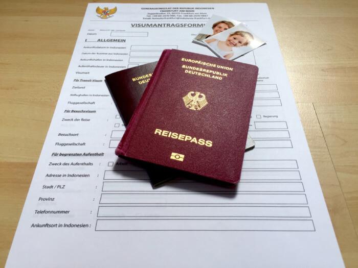 Checkliste für Deinen Urlaub mit Kind - Visum