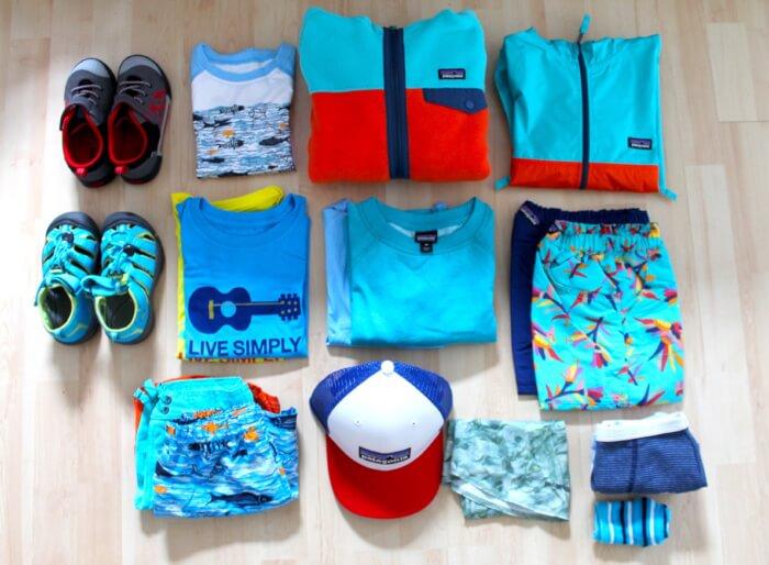 Packliste Kleidung Kind