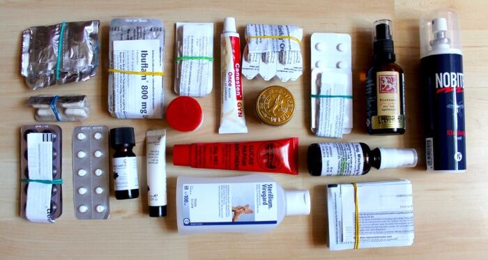 Packliste Medikamente