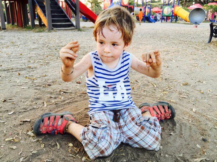 Händewaschen und Co.: So viel Sauberkeit brauchst Du im Urlaub mit Kind
