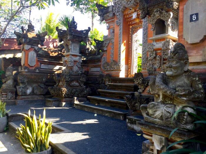 Häuser in Ubud
