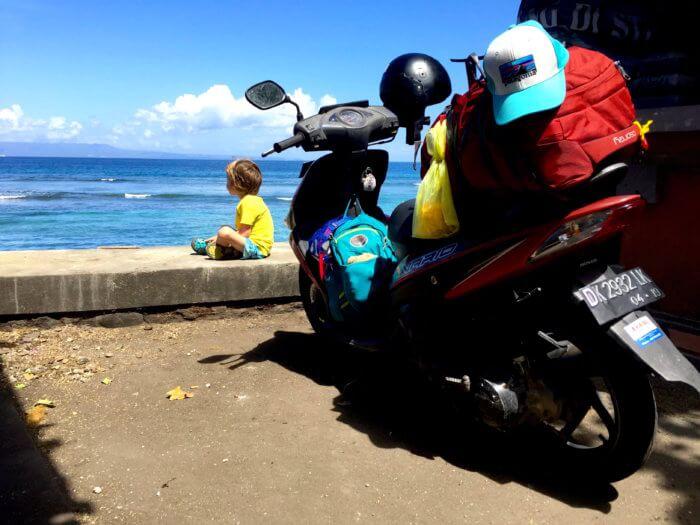 On the road again: Warum Du mit Deinem Kind einen Roller Trip durch Bali machen solltest