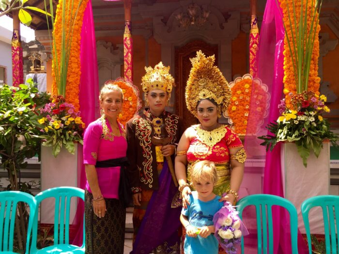 Ja, ich will! Heiraten auf Balinesisch
