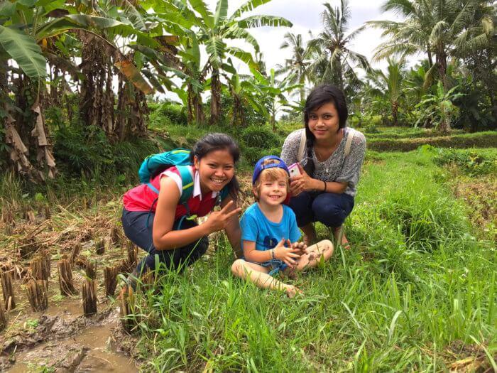 Babysitter auf Bali