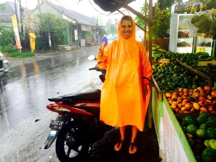 Bali im Regen
