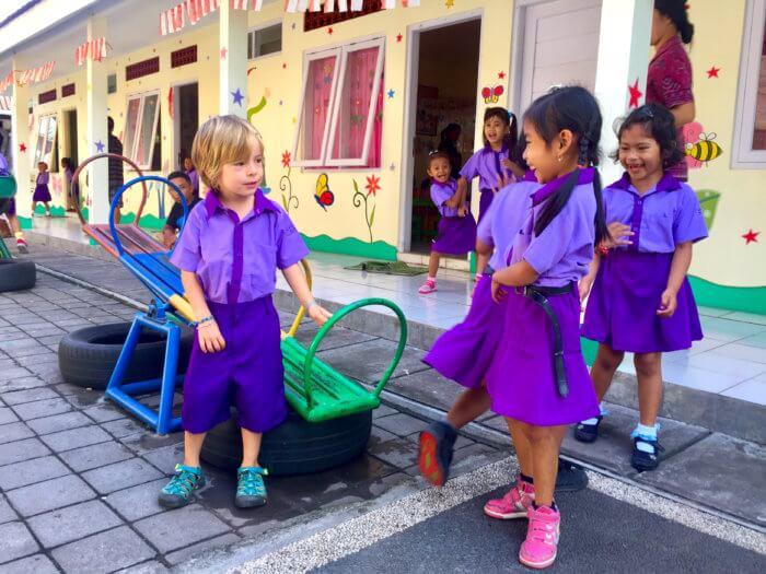 Kindergarten auf Bali