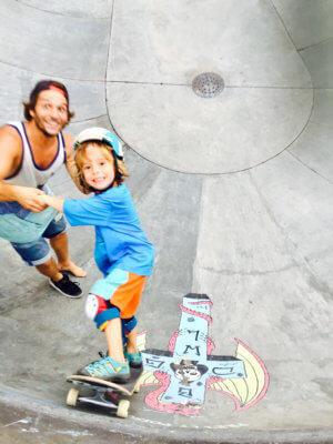 Skaten auf Bali