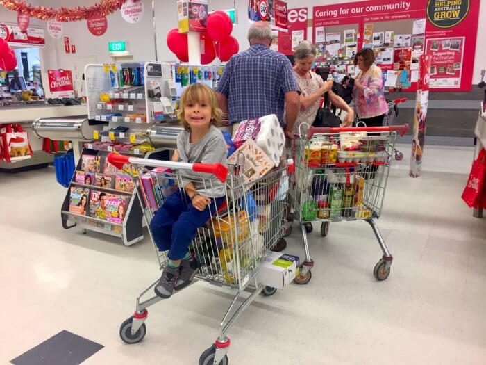 Einkaufen in Australien