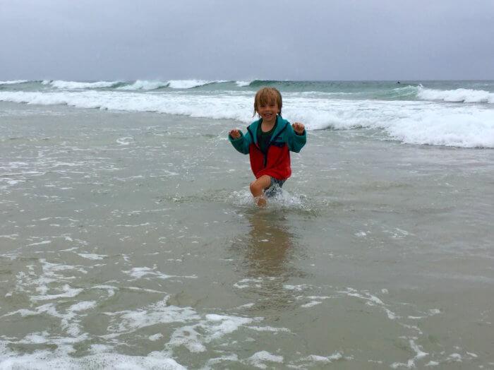 Byron Bay mit Kind