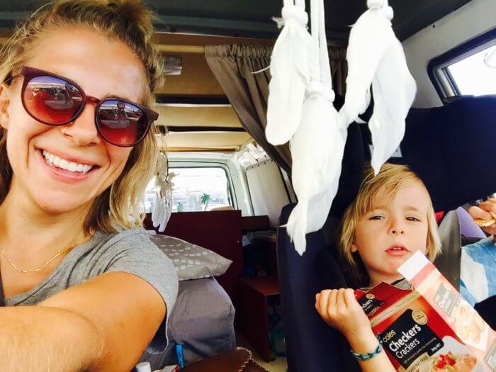 Australien Reiseroute - Camping mit Kind