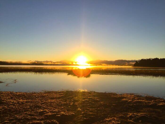 Neuseeland Reiseroute - Lake Mahinapua