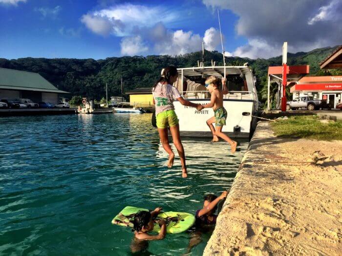 Das kostet ein Monat für Dich und Dein Kind... in Französisch Polynesien - Unterkünfte