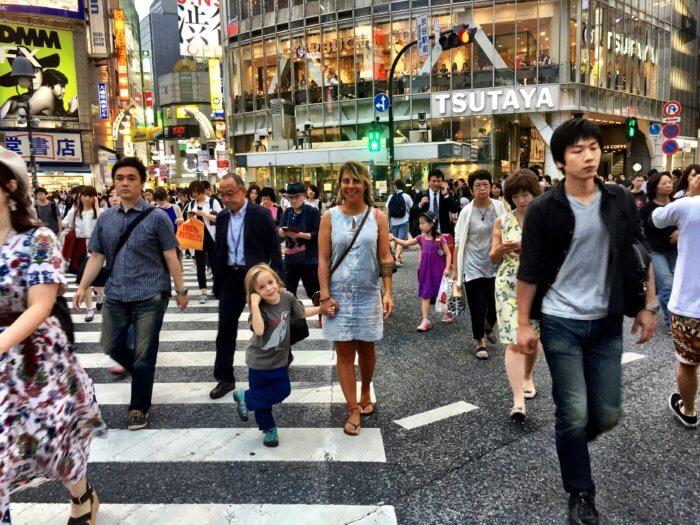Japan Reise mit Kind - Disziplin