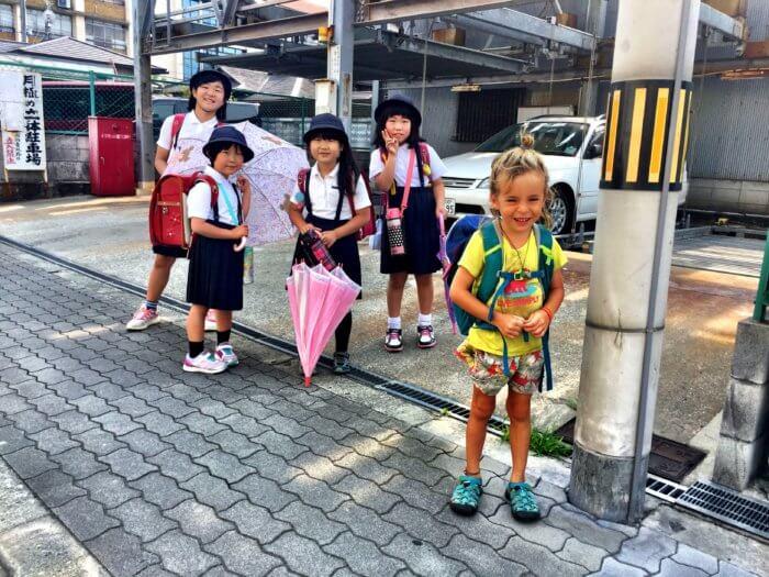 Japan Reise mit Kind - Kinder