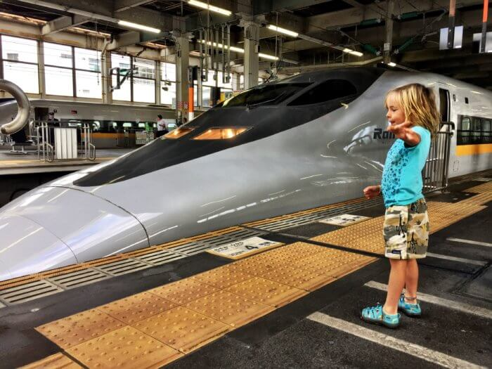 Japan Urlaub Kosten Fortbewegungsmittel