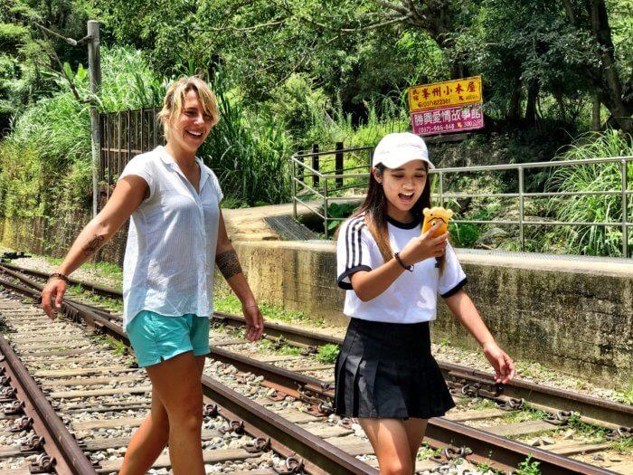 Auf einen Abstecher nach Taiwan mit Kind - Einheimische