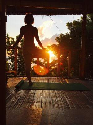 Fit auf Reisen mit Kind - Yoga