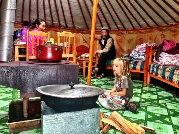 Mongolei Urlaub Kosten - Essen