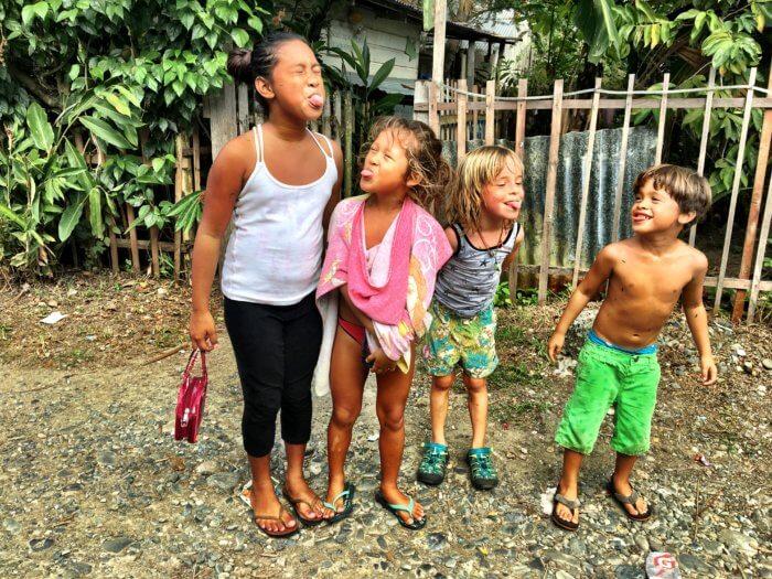 Leben bei Einheimischen in Panama mit Kind