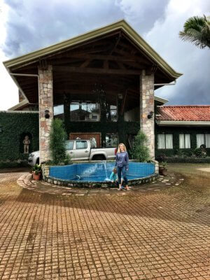 Couchsurfing deluxe in Costa Rica mit Kind