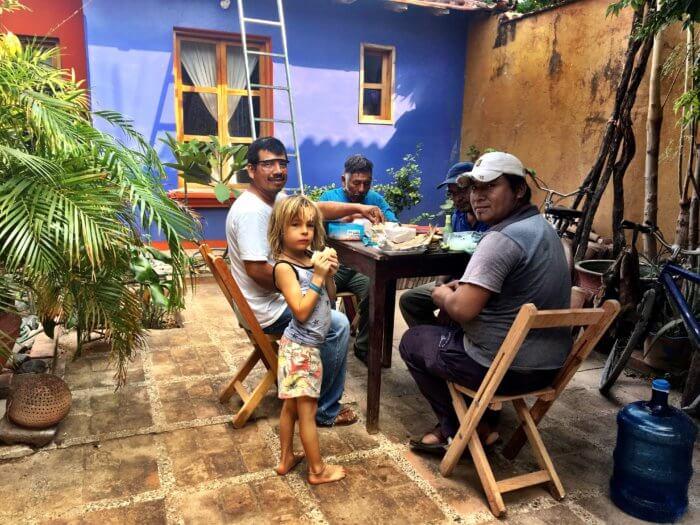 Mexiko mit Kind - Gastfreundschaft