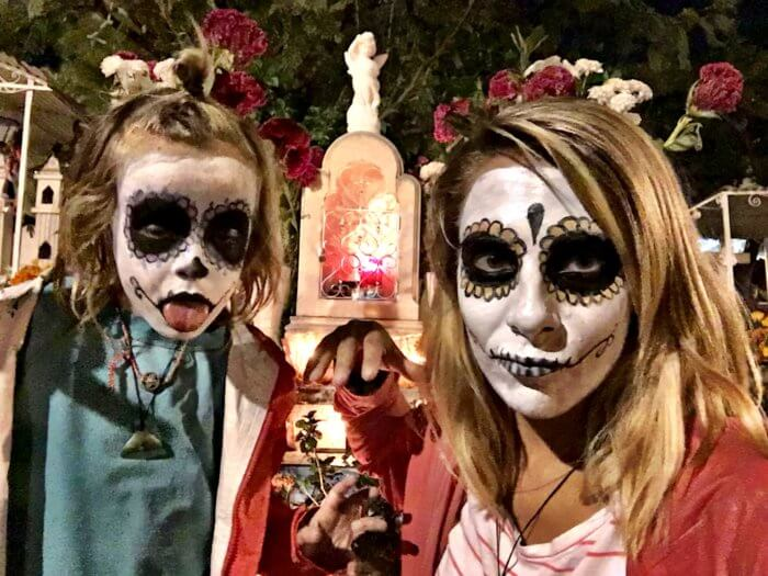 Mexiko mit Kind - Tag der Toten