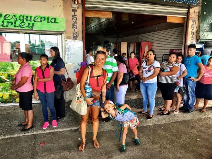 Kosten in Mittelamerika mit Kind - Fortbewegungsmittel