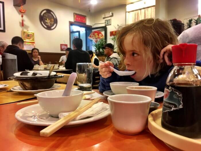 If you're going to... Eine Woche San Francisco mit Kind - Chinatown