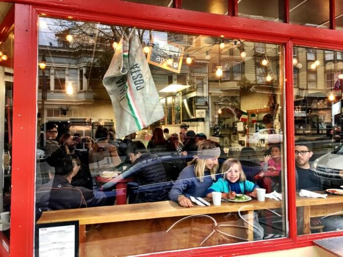 If you're going to... Eine Woche San Francisco mit Kind - Little Italy