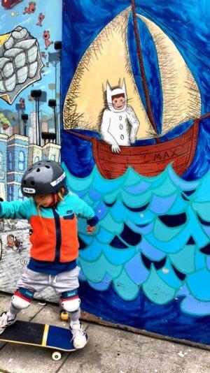 If you're going to... Eine Woche San Francisco mit Kind - Mission District